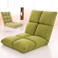Lazy tatami sofa single leisure folding bed dormitory computer bedroom balcony floating window chair