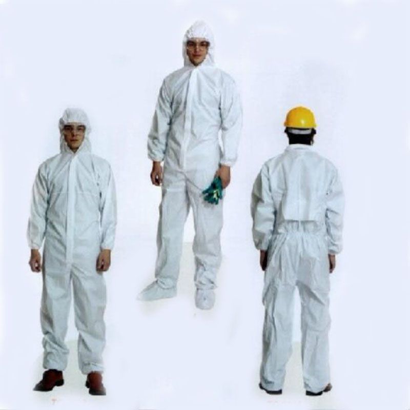 jumpsuit for cleaning - Disposable cleaning service isolation Overalls protective clothing sterile clothes Protective Coverall Safety Work Wear B81603