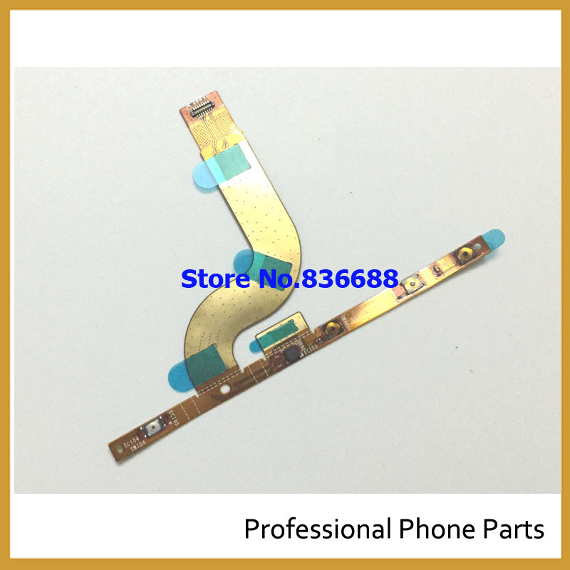 Original Replacement Parts For Sony Xperia M5 Power On Off Volume Up Down Key + Photo Shortcut Key Flex Cable