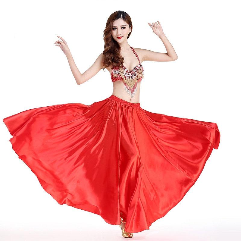 Nouveaux Costumes de danse du ventre femmes scène Performance spectacle robe de fête 3 pièces/ensemble soutien-gorge et ceinture et robe indien Bollywood bellydance vêtements