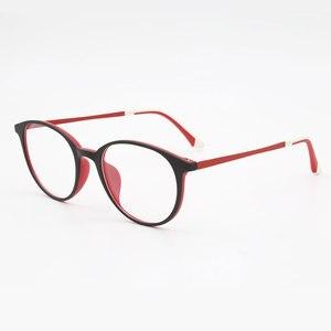 Image 5 - Super Licht gewichteten Ultem Kunststoff Flexible Frauen Brillen Rahmen Optische Verordnung Frau Brillen Farbe Nie Verblassen