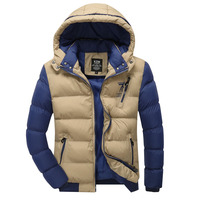 Free shipping 2015 autumn and winter coat explosion models loose cotton warm jacket Korean version of the influx of men 0360