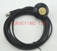 NEW 5M Whip Antenna Pole Mount cable BNC connector for Trimble / Leica /topcon/ sokkia /south GPS Base station(China)