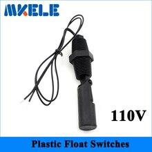 110V MK-PCFS3 Top QualitySide Mount Horizontal Water Level Sensor Liquid Float Switch Mini Float Switch Contains no Mercury