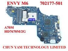 Wholesale laptop motherboard 702177-501 for HP Envy M6 HD7670M/2G 702177-001 LA-8712P mainboard 100%Tested 90DaysWarranty