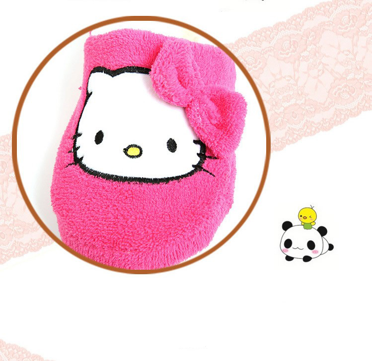 Hello kitty bedroom shoes