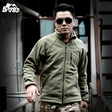 US Military Man Fleece Tactical Jacket Outdoor Polartec Thermal Breathable Sport Polar Tad Coat Outerwear Army Clothes