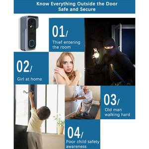 Image 3 - WiFi الذكية كاميرا فيديو بالجرس المنزل شاشة أمن للرؤية الليلية فيديو إنترفون SmartLife APP التحكم عبر iOS الروبوت الهاتف