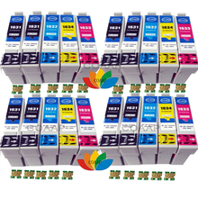 цена на 20 Compatible EPSON T1636 16XL Ink Cartridge for Workforce 2650DWF 2630WF 2530WF 2540WF 2010W 2510WF 2520NF inkjet Printer