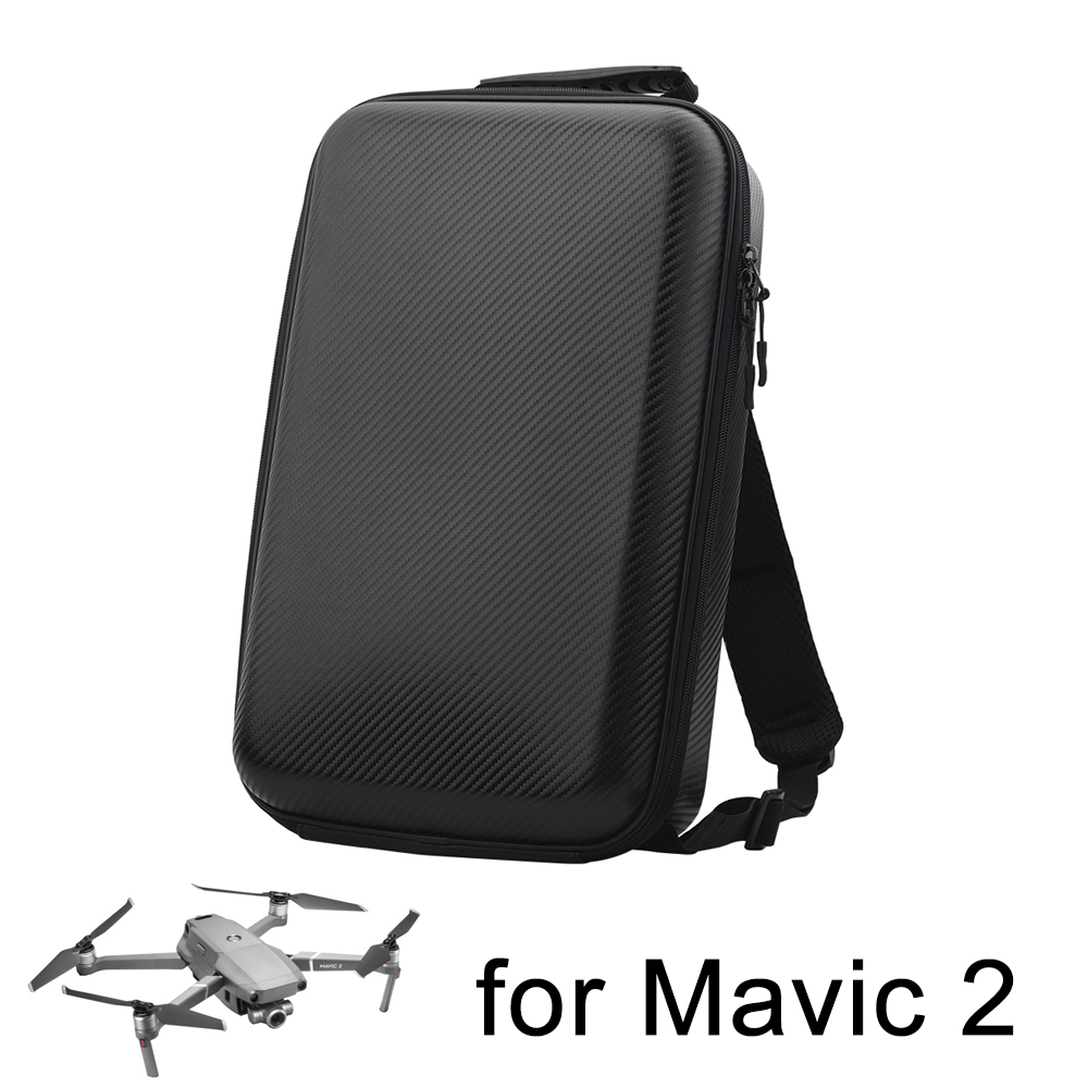 все цены на DJI Mavic 2 Pro Zoom Backpack PU Bag for Mavic 2 Drone Battery Controller Portable Storage Shoulder Bag Carrying Case Box Parts онлайн