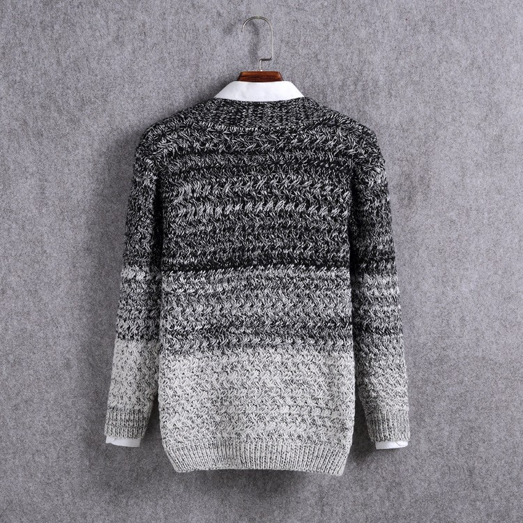 High Quality Mens Sweater New 2015 Autumn Winter Patchwork Cashmere Wool Cardigan Men Sweater Brand Casual V-Neck Mens Clothing (14)