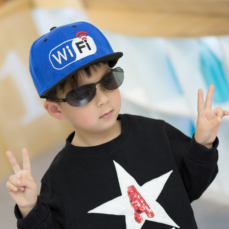 Hot Sale New Spring Summer Baby Letter wifi cap boy Adjustable Baseball Cap 3-10 Years Kids Snapback Hip-Hop Hats Sun Hat