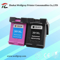 YI LE CAI Compatible 2PCS ink cartridge for HP301 301XL CH563EE CH564EE for hp 301 Deskjet 1000 1050 2000 2050 2510 3000 3054