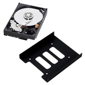 2.5 بوصة SSD HDD إلى 3.5 بوصة المعادن تركيب محول القوس حوض القرص الصلب حامل ل PC القرص الصلب ضميمة