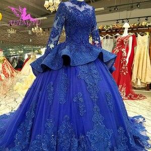 Image 4 - AIJINGYU robes de mariée robe de fiançailles états unis balle russe perles Sexy où acheter des robes de mariée robe de mariée grande taille