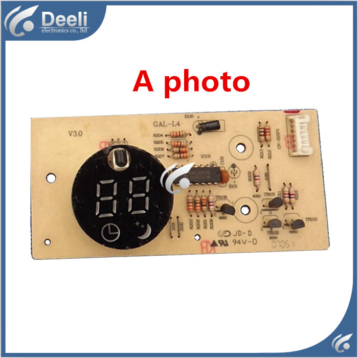 95% new  for Galanz air conditioning Computer board display board GAL-L4 used board for galanz air conditioning computer board circuit board gal0411gk 12aph1