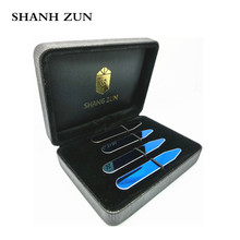 SHANH ZUN Personalized Customize Engraved Stainless Steel Metal Collar Stays Shirt Bone Stiffeners Inserts Gift For Business Man shanh zun personalized customize engraved stainless steel metal collar bones shirt tabs stiffeners inserts golden gift for men