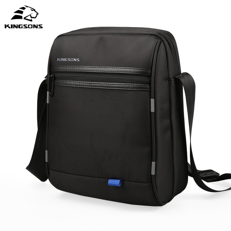 Kingsons Famous Brand Men Bag USB Recharging Messenger Bag Business Casual Briefcase Crossbody bag Bolsas male shoulder bags