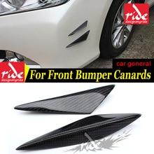 цена на W204 Universal 4Pcs Car Front Bumper Lip Splitter For Benz W204 C180 C200 C250 Front Bumper Lip Splitter Air Knife Auto Body Kit