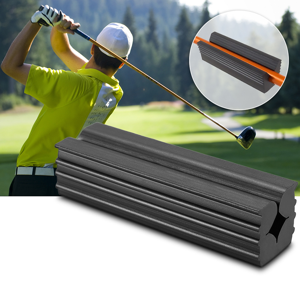 Durable Black Rubber Golf Club Grip Vice Clamps Grips Replacement Gear Tool Goft Accessories