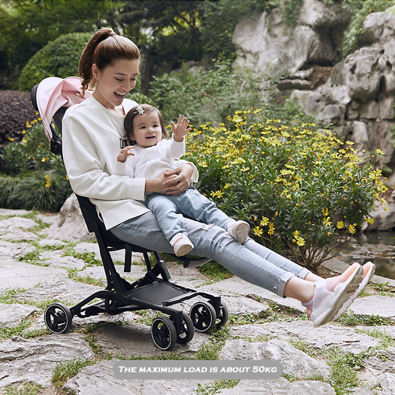 ultra-light baby car Lightweight pushchair portable on the airplane