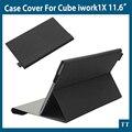 Newest case for Cube iwork1X Fashion PU Leather Case Stand For Cube iwork 1X case+free 3 gifts