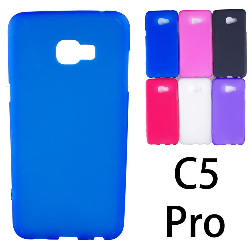 UVR Matte Soft TPU Gel Case For Samsung C5 Pro Case Dual SIM For Samsung Galaxy C5Pro Cover Mobile Phone Cases Free Shipping