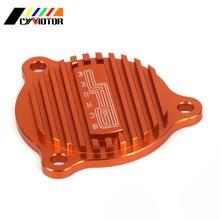 Мотоцикл CNC очиститель для алюминия крышка масляного фильтра набор для KTM SXF XCF XCFW 250 SXF350 SXF450 XCW EXCF 350 400 450 500 530