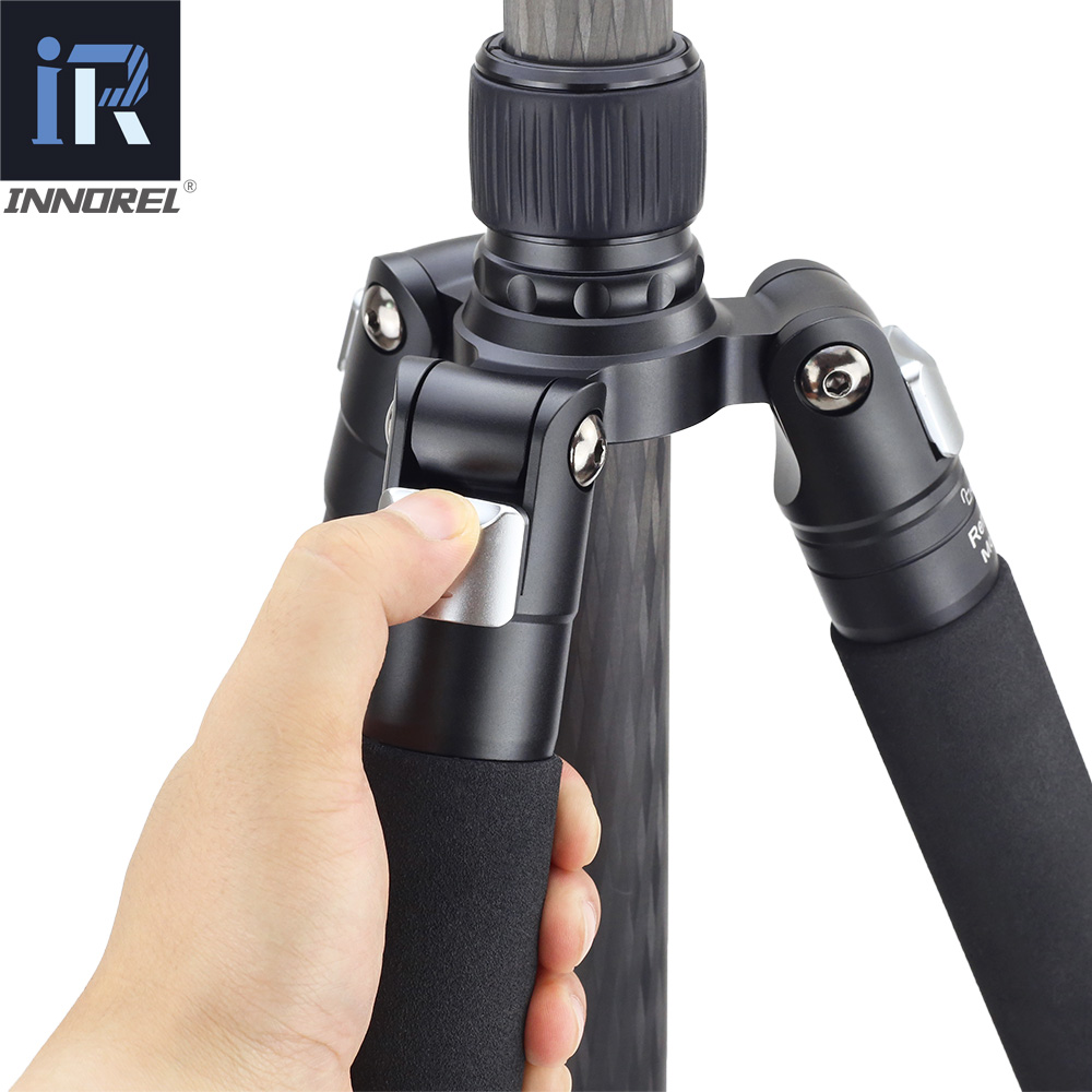 RT85C Carbon fiber tripod Professional multi function heavy digital SLR camera tripod Can be used as a monopod Max load 25KG in Tripods from Consumer Electronics