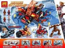 Marvel Avengers Endgame Super Heroes Spider Man Figures Building Blocks Bricks Toys Compatible B408 dc comics justice league 10746 super heroes building blocks bricks toys marvel spider man homecoming gifts bela compatible legoe