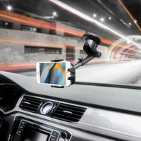 Rotary Suction CD Slot Car Air Vent Clip Mobile Phone Car Holders Stands For Lenovo Zuk