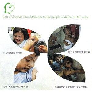 Image 3 - 5 uds. De equipo analgésico médico para niños con forma de mariposa, indoloro, sin aguja, familia, inyecciones para niños y control del dolor