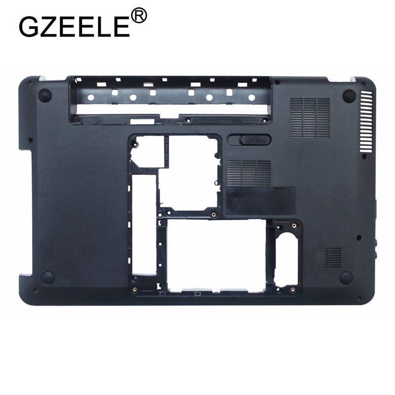 GZEELE D Base Bottom Case Cover For HP For Pavilion DV6 DV6-3000 DV6-3100 Bottom 3ELX6BATP00 603689-001 Laptop Lower Cover Shell