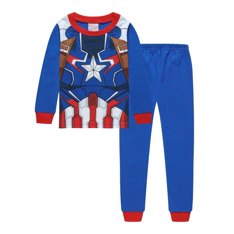 a60599c45 Kids Pajama Sets Baby Boys Sleepwear Suit Children Pyjamas Clothing ...
