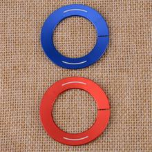 Aluminum Alloy Car Inner Engine Start Stop Push Button Key Cover Trim Ring Protector Sticker Fit For Infinti Q50 Q50L QX60 Q60 brand new motorcycle aluminum alloy inner ring