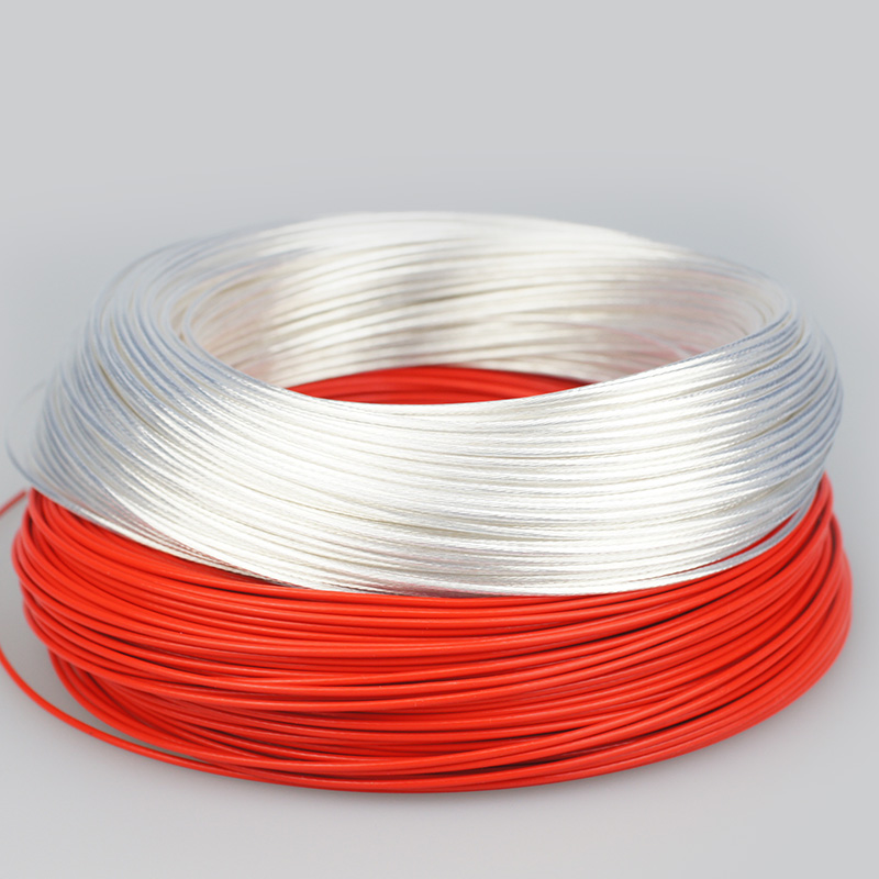 Plated cable Teflon OD 1.5mm DIY High purity oxygen-free copper High temperature Wire 7 Colors to select affliated диски helo he844 chrome plated r20