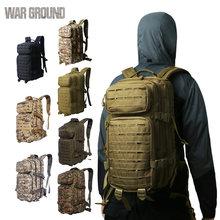 30l molle ao ar livre militar tático 900d náilon mochila camuflagem caminhadas acampamento caça trekking mochilas sacos
