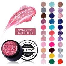 LEMOOC 5ml UV Gel New 2019 Nail Art Tips 180 Pure Colors Manicure UV LED Soak Off DIY Paint Gel Ink UV Gel Nail Polish