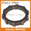 7 Pcs Clutch Plate Disc Set Friction For HONDA CR125R ATC250F TRX250F TRX400E XR400R CBR600F Motorcycle
