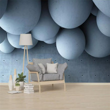 3D stereo abstract future space Nordic background wall specializing in the production of high-end mural wallpaper photo