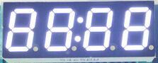 50 шт. x 0,56 дюйм(ов) белый с часами общий анод 4 Цифровой пробки 5465BW светодиодный Дисплей модуль