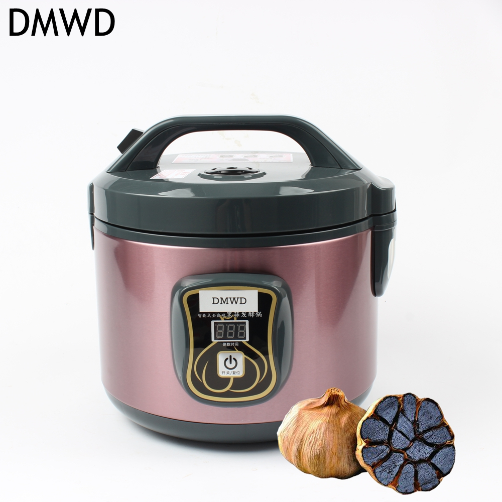 DMWD 90W 3L Household Electric Black garlic machine Nonstick liner Automatic Touch Screen Black garlic fermenter xs black l exces w edp