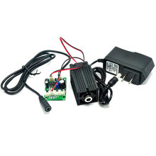 33mm*50mm Focusable 850nm 1w Infrared Laser Module Focus Dot 1000mW Diode Lasers w Fan & TTL & 12V 1A Adapter