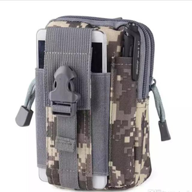 Tactical Waist Bag Military Fanny Pack Water Bottle Waterproof Belt