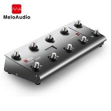 Миди командир гитары Портативный USB MIDI ножной контроллер с 10 ножные переключатели 2 выражение педаль домкраты 8 хост пресеты