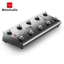 MIDI komutanı gitar taşınabilir USB Midi ayak denetleyicisi ile 10 ayak anahtarları 2 ifade etkisi pedalı krikolar 8 ana bilgisayar hazır