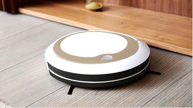 Интеллектуальный автоматический вытирая машина карты ультра тонкий немой Mopping робот