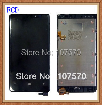 ФОТО 100% Guarantee Quality For Nokia Lumia 920 original  LCD With Touch Screen Digitizer Assembly With Frame Dhl Free Shipping
