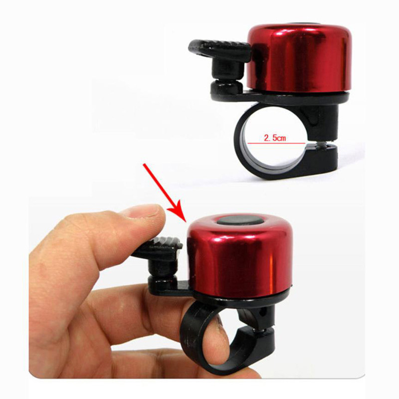 Rings Horn Sound Alarm Cycling Bicycle Handlebar  Safety Bike Bell Metal Ring
