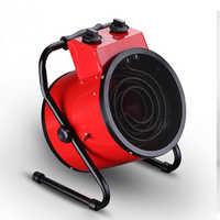 3KW Industriale Riscaldatore Ad Aria Ad alta potenza Termostato Domestico Riscaldatori Ad Aria Calda Ventilatore Riscaldatore di Ventilatore A Vapore Camera Riscaldatore Elettrico
